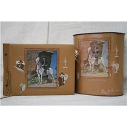 Hopalong Cassidy Photo Album & Trash