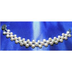 7 Inch Siopao Pearl Bracelet Peach Philippines