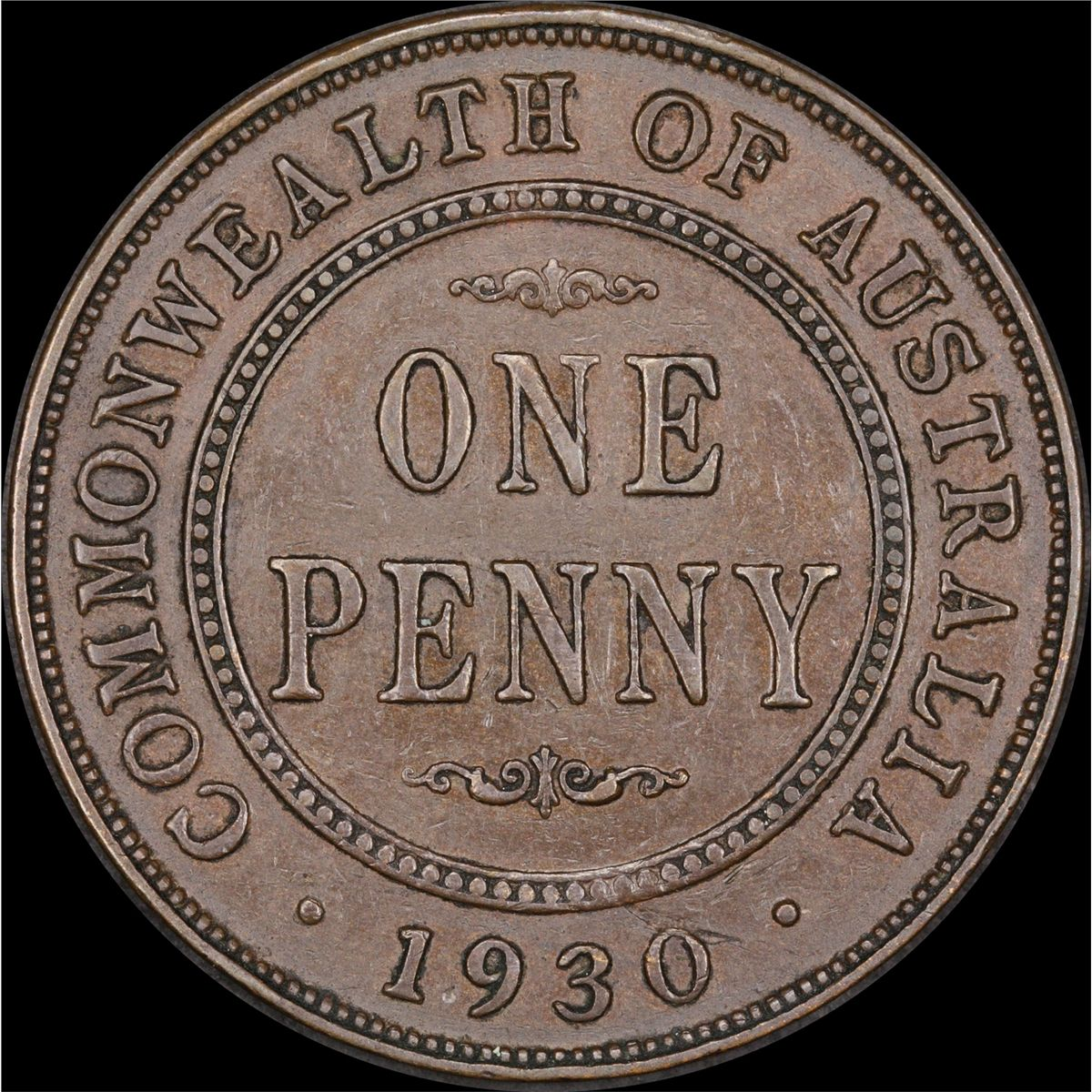 how to clean old australian pennies