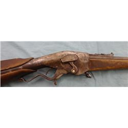 Rare Evans Lever Action Repeating Rifle
