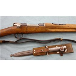 Swedish Gustaf Model 1896 Rifle & Bayonet