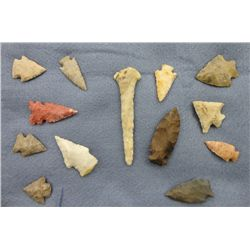 Display of 13 Arrowheads