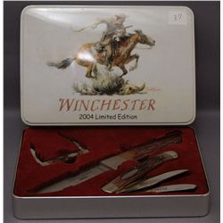 COLLECTOR'S SET OF WINCHESTER KNIVES