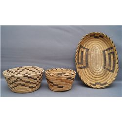 COLLECTION OF PAPAGO BASKETS