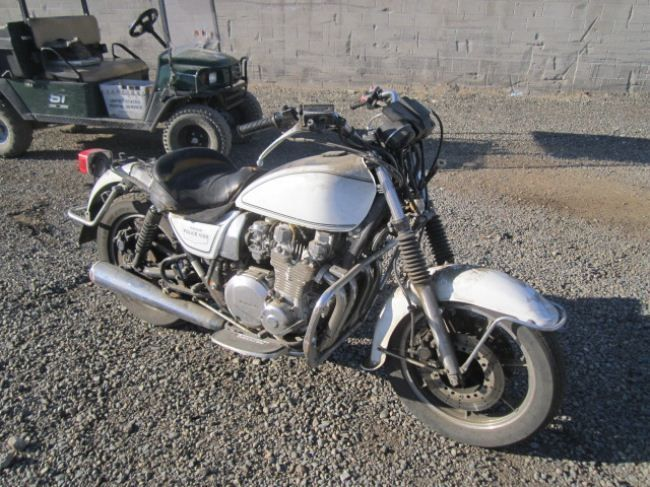 1990 kawasaki kz1000 police model motorcycle