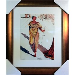 Salvador Dali Signed Limited Edition - APOLLON