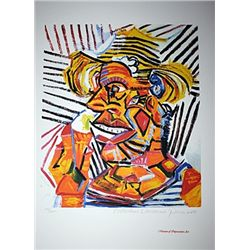 Limited Edition Picasso - Man With A Straw Hat - Collection Domaine Picasso