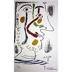 Picasso Limited Edition Lithographs - Hand Pulled and Signed