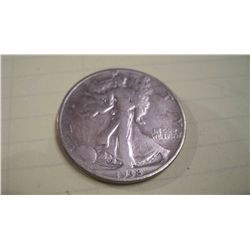 1938- D WALKING LIBERTY HALF DOLLAR, G