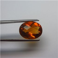 Loose Natural Citrine Oval 12mm x 10mm VERY NICE color tone