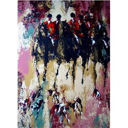 Mark King Fox Hunt S/N Limited Edition Serigraph