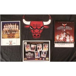 Chicago Bulls Lot Huge Patch, 2007-08 Yearbook 96 Photo