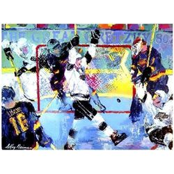 Gretzky Gretzky's Goal LE Signed LeRoy Neiman Serigraph
