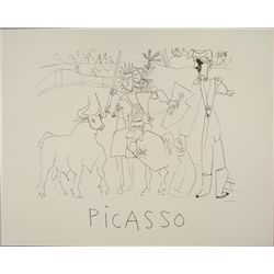 Pablo Picasso : Bullfight Art Print