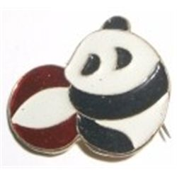 Russian Pin Picture of PANDA & BALL!!