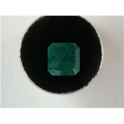 5.13 Carat Bright Glowing Green Emerald Gemstone
