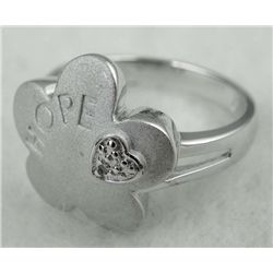 925 STERLING HOPE RING