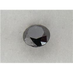 5.49 Carat Black Opaqu-A! Clarity Loose Diamond