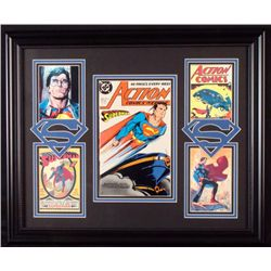 Superman# 617 Comic Book 1988 + 4 Pics Custom Framed