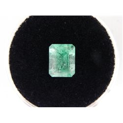 1.75 Carat Bright Glowing Green Emerald Gemstone