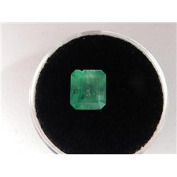 2.24 Carat Bright Glowing Green Emerald Gemstone