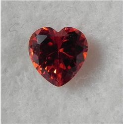 3.2 Carat Natural Red Zicron Gemstone