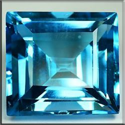AMAZING VVS 62.82 Ct LONDON BLUE NATURAL TOPAZ PRINCESS