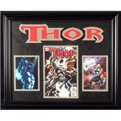 Thor Comic Book V6 Adams Cover 2 Pictures Custom Framed