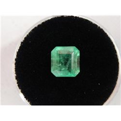 1.90 Carat Bright Glowing Green Emerald Gemstone
