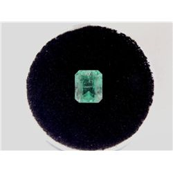 1.22 Carat Bright Glowing Green Emerald Gemstone