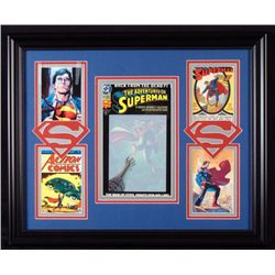 Superman #11 Comic Book 1993 + 4 Pics Custom Framed