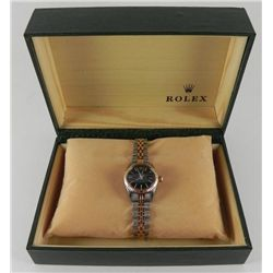 Ladies Rolex Two-Tone Date Model Wristwatch