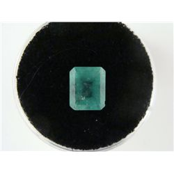 2.07 Carat Bright Glowing Green Emerald Gemstone