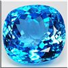 IMMACULATE VVS 116.74 Ct LONDON BLUE NATURAL TOPAZ CUSH