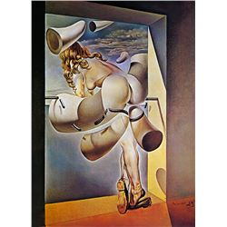 Young Virgin- Dali - Limited Edition on Canvas