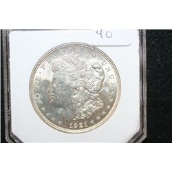 1921 Silver Morgan $1; PCI Graded MS63
