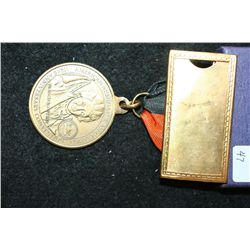 1993 American Numismatic Association-102nd Anniversary Convention Medal-Baltimore MD; Francis Scott