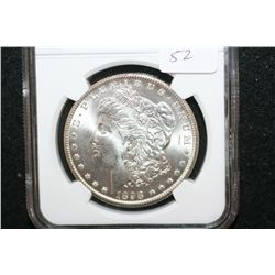 1898-O Silver Morgan $1; NGC Graded MS64