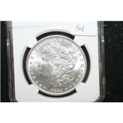 1884-O Silver Morgan $1; NGC Graded MS64