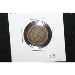 1861 Indian Head One Cent