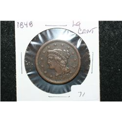 1848 Large One Cent