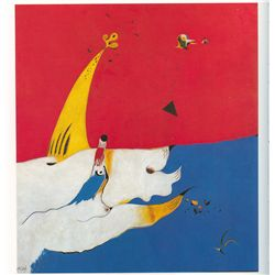 Lanscape - Miro - Limited Edition on Canvas