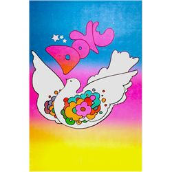 Peter Max, Dove, Poster