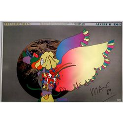 Peter Max, Apollo #2, Signed Poster