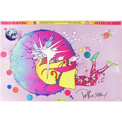 Peter Max, Moon Tripping, Apollo Poster