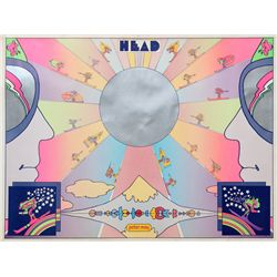 Peter Max, Head, Poster