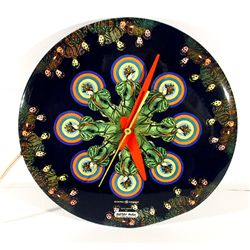 Peter Max, Victorian Women in Pattern, General Electric Clock