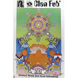 Peter Max, Clan Fub Fan Club, Poster