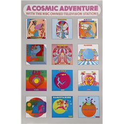 Peter Max, A Cosmic Adventure, Poster
