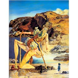 The Spectre Of Sex Appeal - Dali - Limited Edition on Canvas